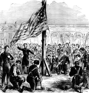 Fort Sumter Flag - Major Robert Anderson
