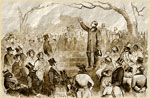 Abolitionists: Anti-Slavery meeting on Boston Common
