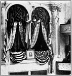Abraham Lincoln Assassination: Box at Ford's Theatre where Lincoln was assassinated
