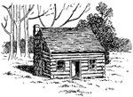 Abraham Lincoln Home: Lincoln's Cabin