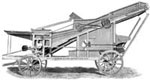 Agricultural Development: Threshing machine
