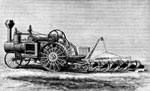 Agricultural Inventions: Steam Gang Plough