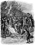 American Revolutionary War: Papers were Destroyed