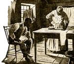 American Slavery: Slave cabin