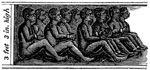 Amistad Revolt: Position as described by Cinque of his companions as they were confined on board the slaver during their passage from Africa