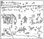 Anasazi Indians: Rock Inscriptions