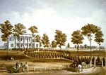 Andrew Jackson Hermitage: The Hermitage and Jackson's Tomb, 1856