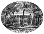 Andrew Jackson Hermitage: The Hermitage in 1861