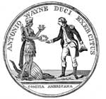 Anthony Wayne: Gold Medal Awarded to Wayne by Congress