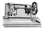 Antique Sewing Machines: Underview of F. F. Machine