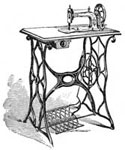 Antique Singer Sewing Machines: The Plain New Family Machine