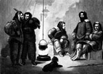 Arctic Exploration: Kane and his companions in their vessel