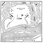 Ball's Bluff: Plan of the Battle of Ball's Bluff