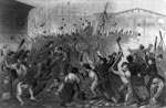 Baltimore Riots: Attack on the Massachusetts Sixth in Baltimore, April 19, 1861
