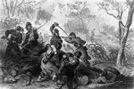 Battle of Ball's Bluff: Death of Colonel Baker