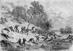 Battle of Ball's Bluff: Retreat of the Federals