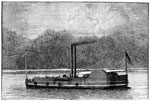 Battle of Belmont: U. S. Gun Boat Taylor at the Battle of Belmont