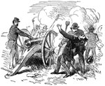 Battle of Big Bethel: A Scene at Bethel