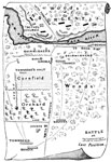 Battle of Big Bethel: Battle Map of Big Bethel