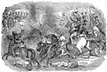 Battle of Buena Vista: Repulse of the Mexican Cavalry at Buena Vista