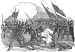 Battle of Bull Run: Desperate Fighting of the Union Troops Against Superior Numbers