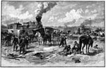 Battle of Fair Oaks: After the Battle of Fair Oaks - Putting the Wounded Aboard the Cars