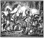 Battle of Fallen Timbers: General Wayne Defeating the Indians