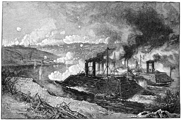 Battle Of Fort Donelson The Attack On Fort Donelson