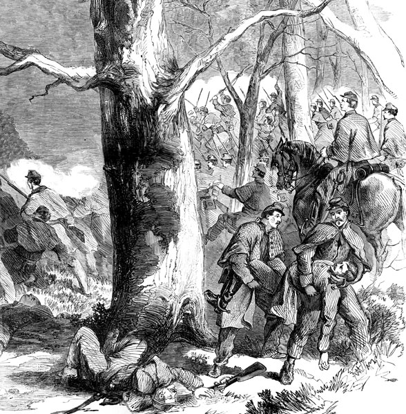 Battle Of Fort Donelson Decisive Bayonet Charge Of The 2nd At Fort Donelson Feb