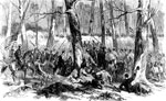 Battle of Fort Donelson: Charge of the 11th Indiana Regiments Led by Gen. Lewis Wallace at Fort Donelson, Feb. 15, 1862