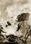 Battle of Fort Henry: Bombardment of Fort Henry