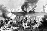 Battle of Fort Sumter: Bombardment of Fort Sumter by the Batteries of The Confederate States