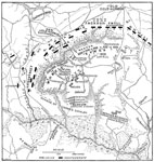 Battle of Gaines's Mill: Map of the Battlefield of Gaines's Mill