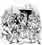 Battle of Gaines's Mill: Charge of a Sutler upon Anderson's Brigade at Gaines's Mill