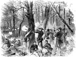 Battle of Gaines's Mill: Skirmishing in the Woods