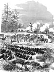 Battle of Glendale: Battery D, Fifth U. S. Artillery, at Frazier's Farm