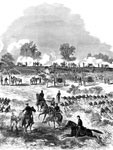 Battle of Glendale: First Massachusetts Battery at Frazier's Farm