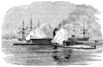 Battle of Hampton Roads: The Monitor and the Virginia, or Merrimac