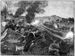 Battle of Lexington: The British Retreatingfrom Lexington
