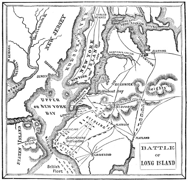 essay on the battle of long island