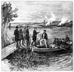 Battle of Malvern Hill: Gun Boats at Malvern Hill