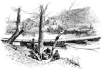 Battle of Manassas: Bull Run, Near Blackburn's Ford