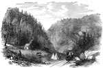 Battle of Manassas: Thoroughfare Gap, a Pass in the Mountains on the Manassas Gap Railroad Near Strasburg, VA