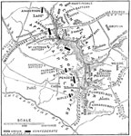 Battle of Mechanicsville: Plan of the Battle of Mechanicsville