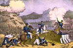 Battle of Monterey: Storming of Independence HIll at the Battle of Monterey