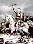 Battle of Pea Ridge: Gen. Franz Sigel at the Battle of Pea Ridge