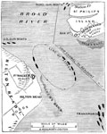 Battle of Port Royal: Plan of the Naval Battle, Port Royal Harbor