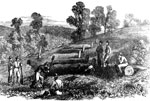Battle of Rich Mountain: The Burial of Indiana Volunteers Who Fell at the Battle of Rich Mountain