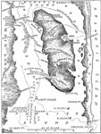 Battle of Roanoke Island: Map of Roanoke Island
