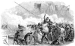 Battle of Roanoke Island: Hand to Hand Fight